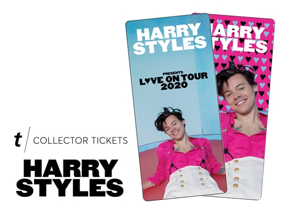 harry styles collector ticket